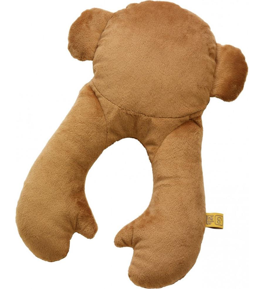 Monkey Flat Neck Pillow