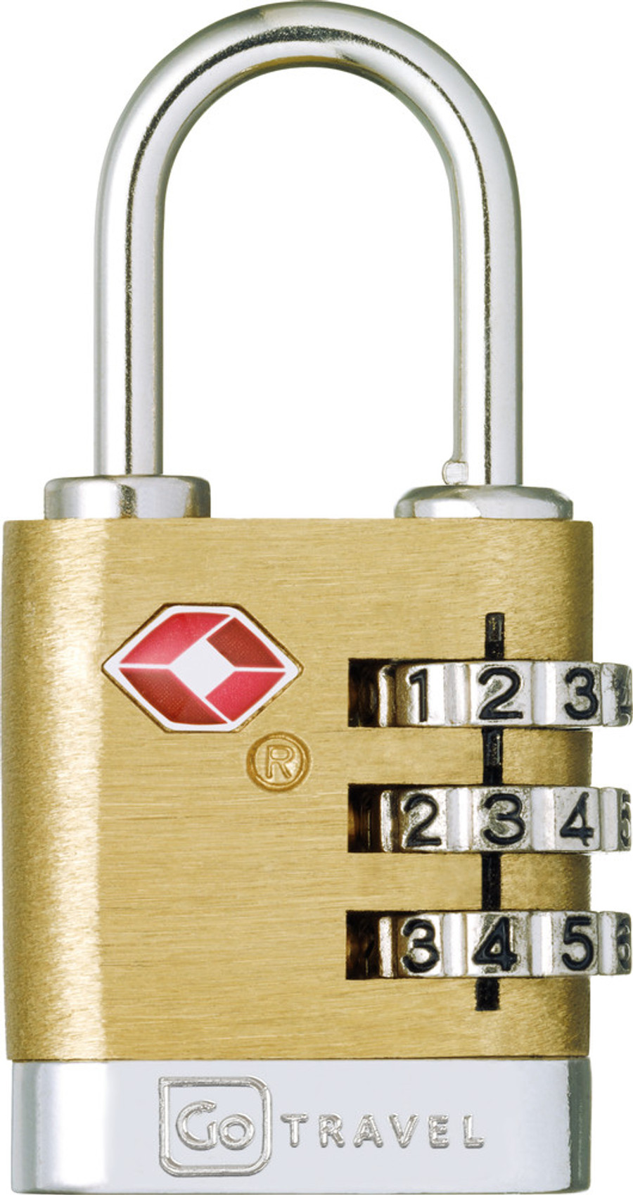 Brass Travel Sentry Lock