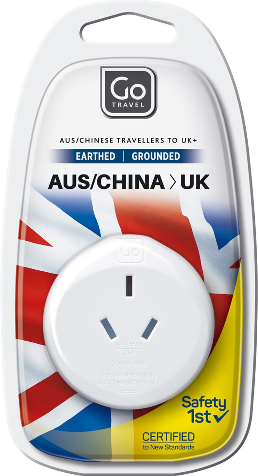 AUS/China-UK Adaptor