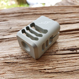 ARCHON MFG GLOCK COMPENSATOR 1/2-28 9MM PHANTOM GREY ANODIZE