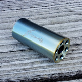 ".308 / 7.62 Linear Compensator 5/8""-24 Threads 303 Stainless Blue Gold Spectrum"