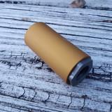 9mm Mod- Comp Linear Compensator Matte Gold Anodize