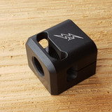 ARCHON MFG SHORTY GLOCK COMPENSATOR 1/2-28 9MM BLACK ANODIZE