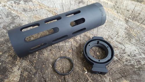 Pantheon Arms Dolos Quick Detach AR-15 Takedown System Gen2 w/Lock Free Float Handguard