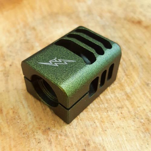 ARCHON MFG GLOCK COMPENSATOR 1/2-28 9MM LIMITED EDITION KAIMAN DURACOAT