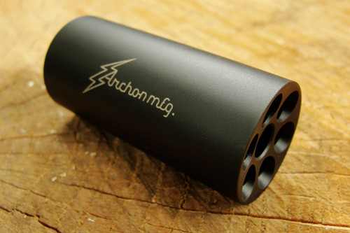 """.223 / 5.56 Linear Compensator 1/2""""-28 Threads 303 Stainless Black Nitride"""