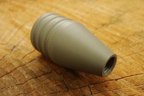 """Tactical Bolt Knob, 6061 Aluminum, 5/16""""-24 Threads, FDE Duracoat"""