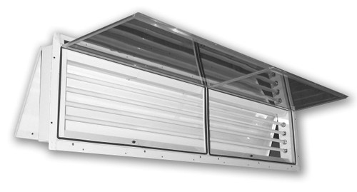 8' 120 Volt Rear Access Fixture Steel housing has a highly reflective finish Rear access only in this model Listed for places with paint residue deposits