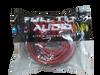 FULL TILT 1/0 GAUGE AWG RED/BLACK AMPLIFIER/AMP WIRE KIT
