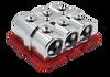 Jims Machineworx 6 Spot 1/0 Set Screw Distribution Blocks