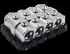 Jims Machineworx 8 Spot 1/0 Set Screw Distribution Blocks