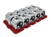 Jims Machineworx 10 Spot 1/0 Set Screw Distribution Blocks