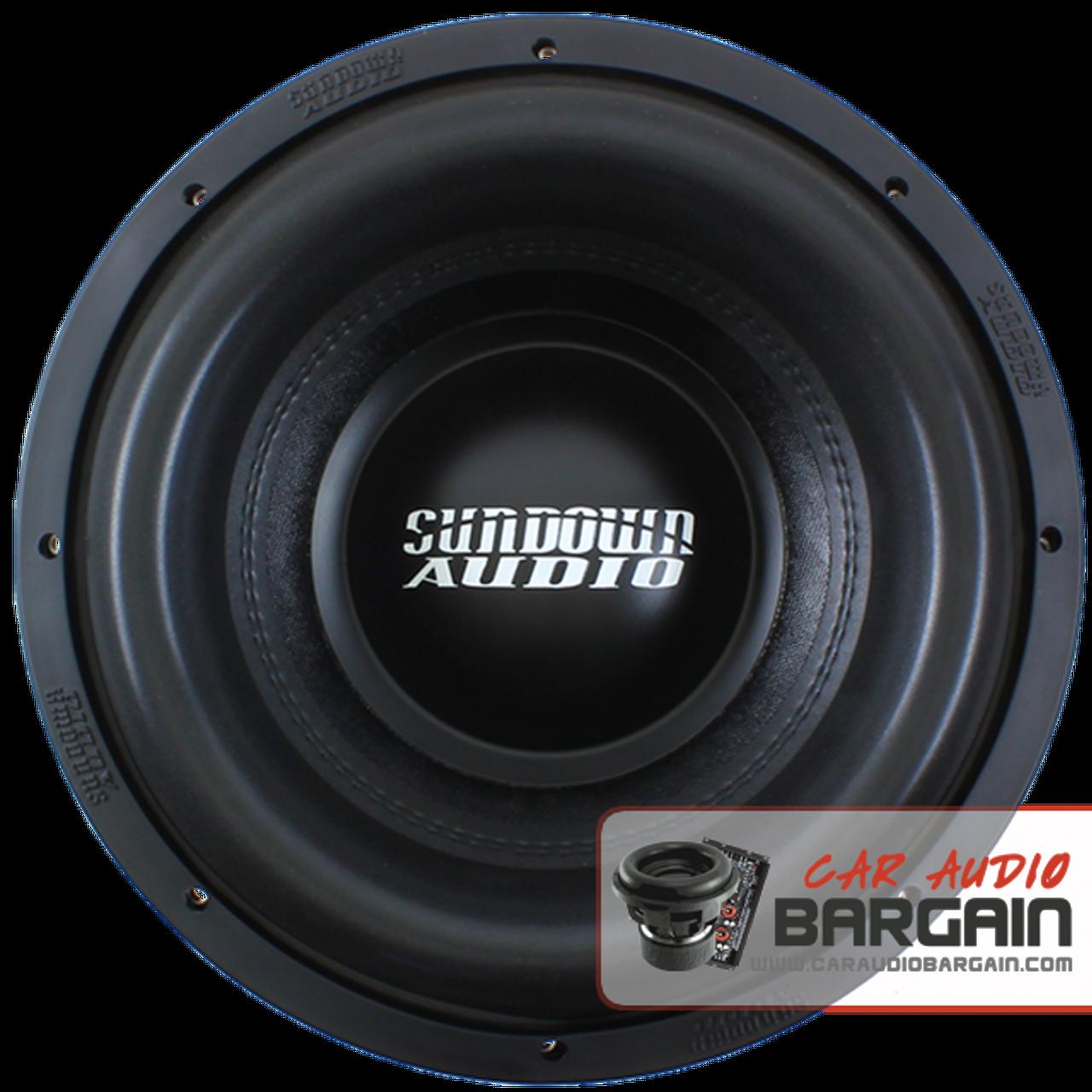 "Sundown Audio Xv2 12"" inch DVC Dual 2 Ohm (X Series) Car Subwoofer 1500 Watts RMS"
