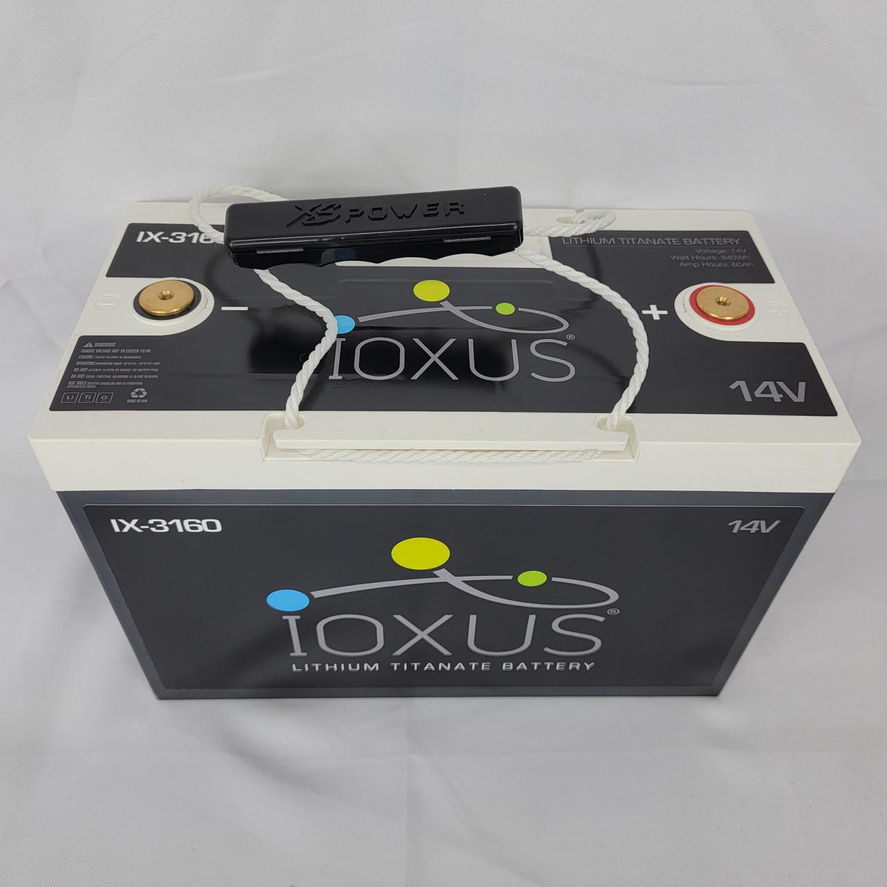 XS Power/Ioxus 60Ah Lithium LTO Battery 10,000 RMS handling