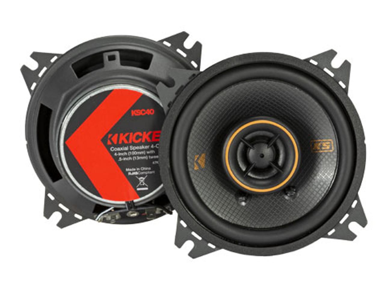 KICKER KSC404 COAXIAL SPEAKERS