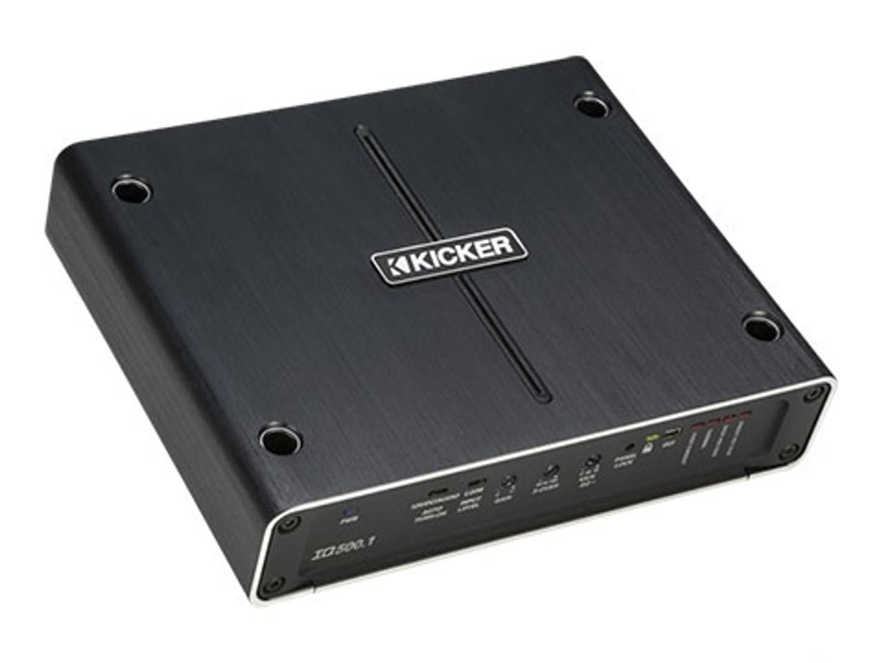 KICKER IQ500.1 Mono Class Amplifier