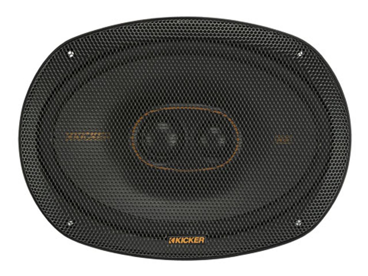 KICKER KSC69304- 6X9in 3way Speaker 4ohm