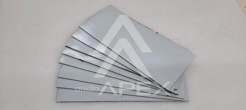 Sundown Audio 160 Mil Sound Deadener 4 Pieces (5.5 Sqft) 2 Door Kit Automotive Dampening