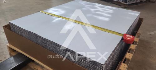 """SUNDOWN AUDIO FULL PALLET 160 MIL DEADNER - 100 FULL SHEETS  ( 37"""" X 43"""" )"""