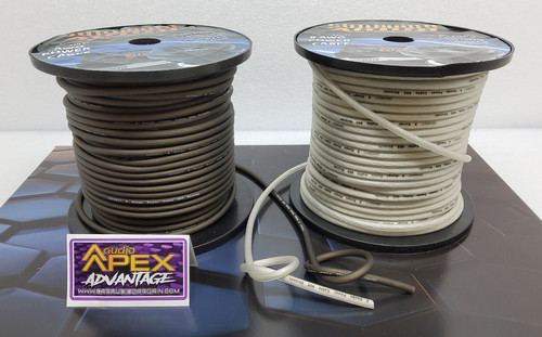 Sundown Audio 8 AWG OFC POWER WIRE / BY THE FOOT