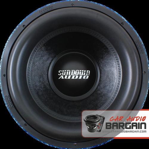 "Sundown Audio Xv2 15"" inch DVC Dual 4 Ohm (X Series) Car Subwoofer 1500 Watts RMS"