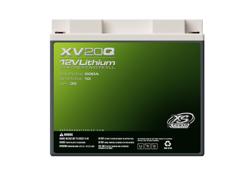 XS Power XV20Q 12V Lithium Ion Powersports Battery