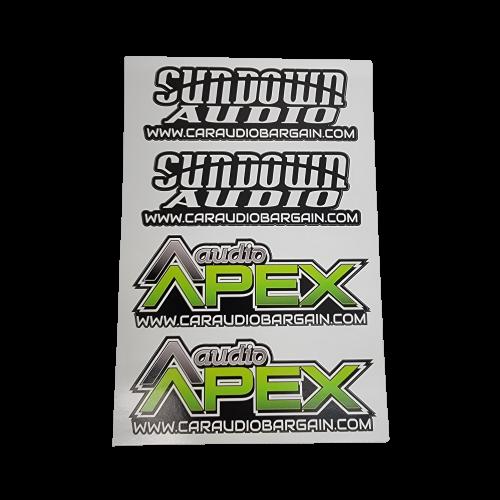 """Audio Apex Sticker 6"""""""
