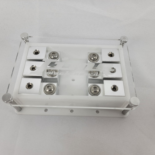Jims Machineworx White 3 Spot Set Screw Style Fuse Holder