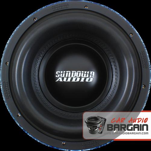 "Sundown Audio Xv2 10"" inch DVC Dual 2 Ohm (X Series) Car Subwoofer 1500 Watts RMS"