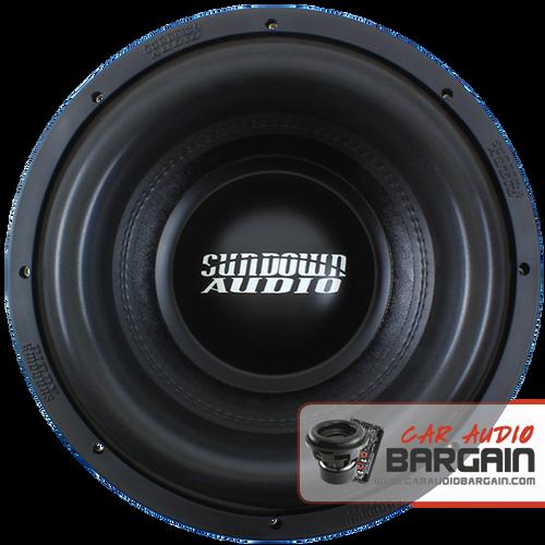 "Sundown Audio Xv2 12"" inch DVC Dual 4 Ohm (X Series) Car Subwoofer 1500 Watts RMS"