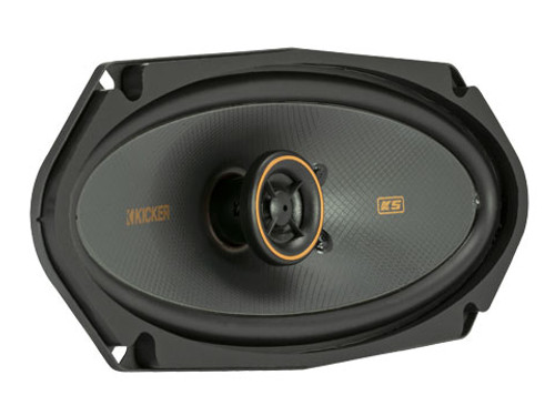 "KICKER KSC41004- 4X10"" Coax Speakers w/.5"" Tweeters"