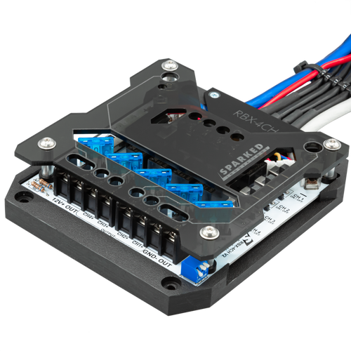 Sparked Innovations RBX-4CH Four-Channel Relay Box
