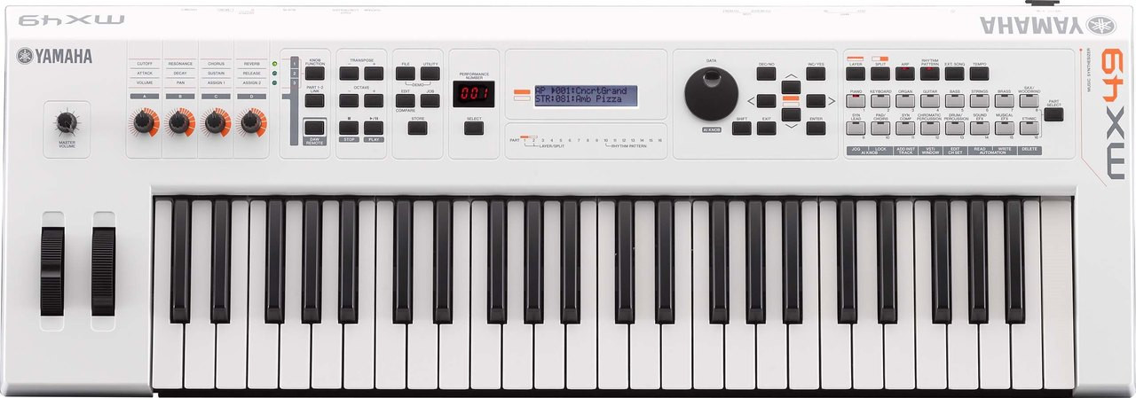Yamaha MX49WH 49 key MX49 synthesizer