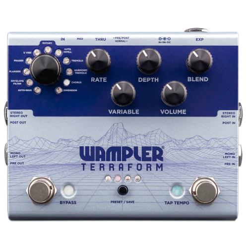 Wampler Terraform Stereo Modulation effect Pedal
