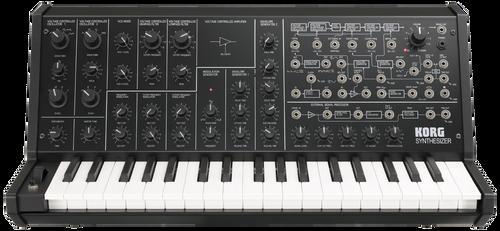 Korg MS-20 mini monophonic synthesizer keyboard