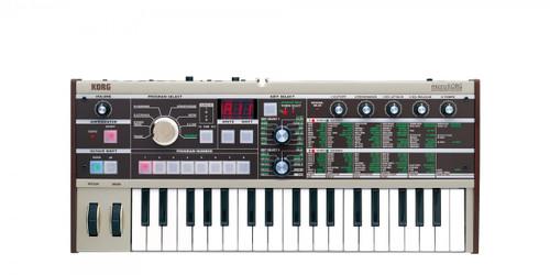 Korg microKorg Synthesizer Vocoder keyboard