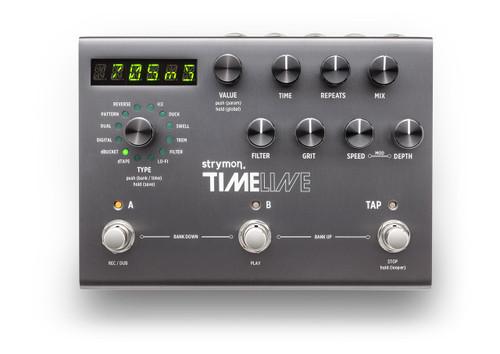 Strymon TimeLine II Delay guitar Pedal open box