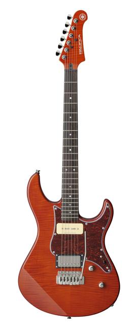 Yamaha Pacifica PAC611VFM CB Electric guitar Carmel Brown demo