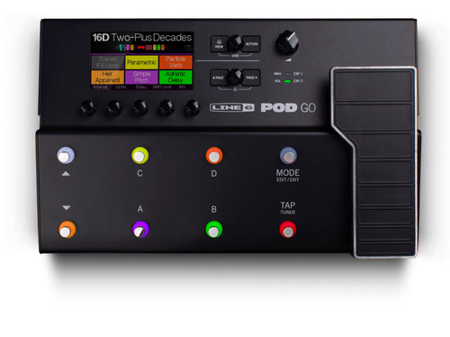 Line 6 POD Go Guitar Multi-effects Floor Processor