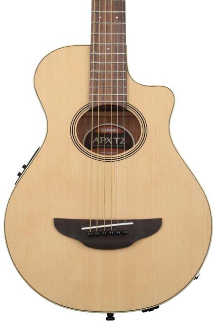 Yamaha APXT2 ¾ size Thin-line Cutaway Natural Acoustic Electric Guitar
