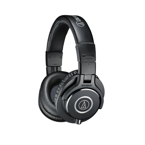 Audio-Technica ATH-M40x Closed-back Studio Monitoring Headphones
