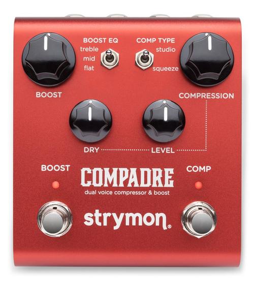 Strymon Compadre Dual voice compressor and Boost guitar pedal