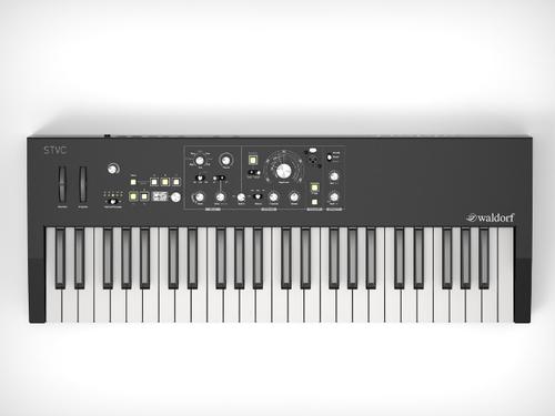 Waldorf STVC String synthesizer vocoder keyboard