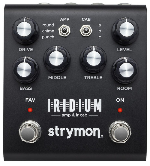 Strymon Iridium Amp & IR Cab Pedal open box display