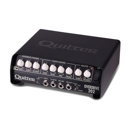 Quilter OVERDRIVE 202 200W Compact Guitar Head