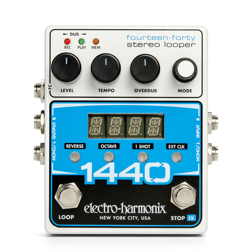 Electro-Harmonix 1440 Stereo Looper guitar pedal display demo unit