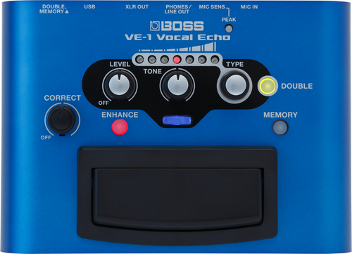 Boss VE-1 Vocal Echo Pedal Used Demo