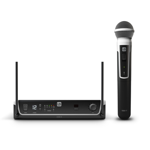 LD Systems U305 HHD Wireless Microphone System with Dynamic Microphone 514-542 MHz