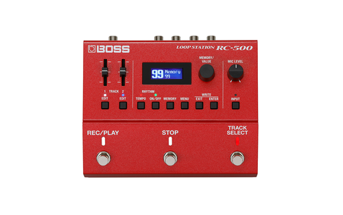 Boss RC-500 Loop Station Compact Phrase Recorder Pedal