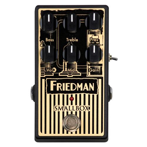Friedman Smallbox Overdrive Guitar Pedal